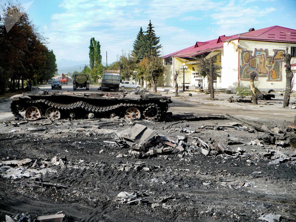 Танк Баранкевича. Цхинвал. Война 08.08.08.