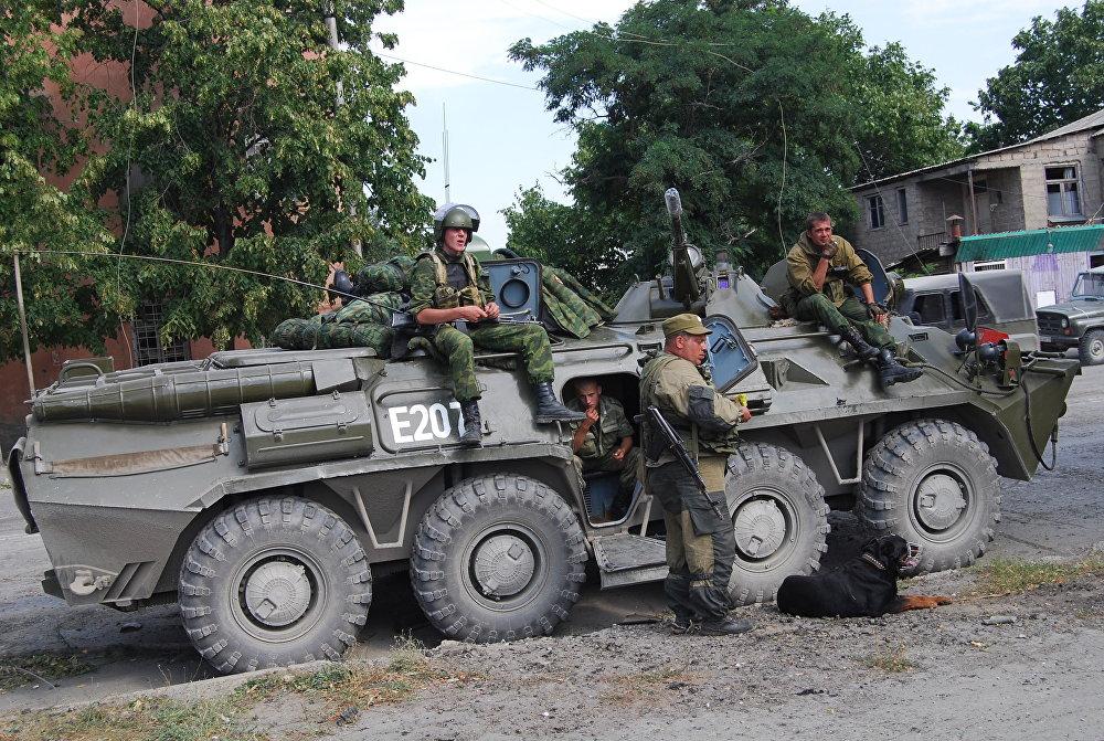 Российские войска пришли на помощь Южной Осетии