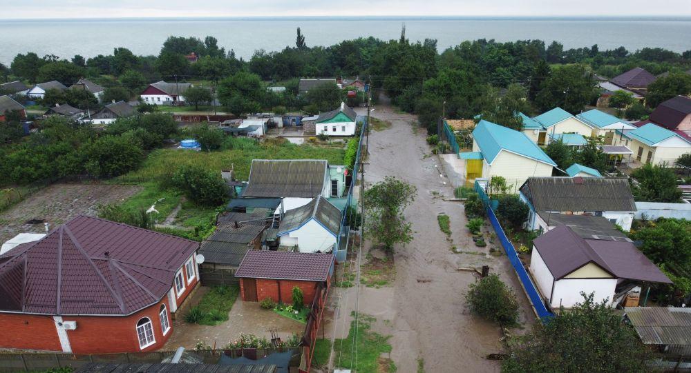 Подтопления в Краснодарском крае из-за обильных осадков