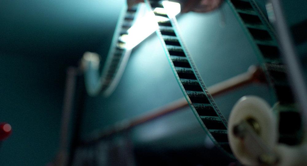 Кинопленка. Архивное фото.