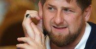 Глава Чечни Р.Кадыров. Архивное фото.