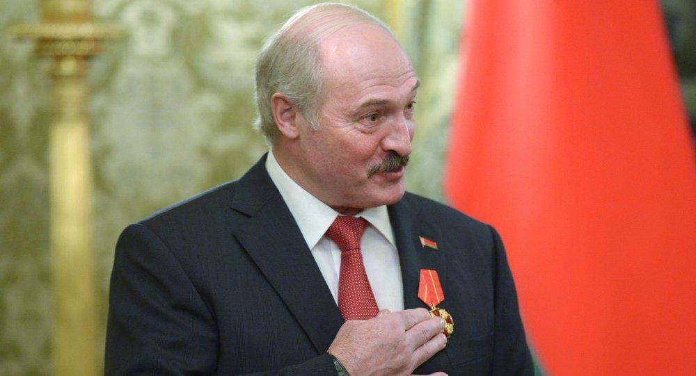 Президент Белоруссии Александр Лукашенко. Архивное фото.
