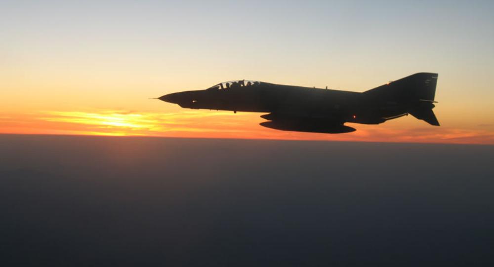 Истребитель ВВС Турции. Архивное фото.