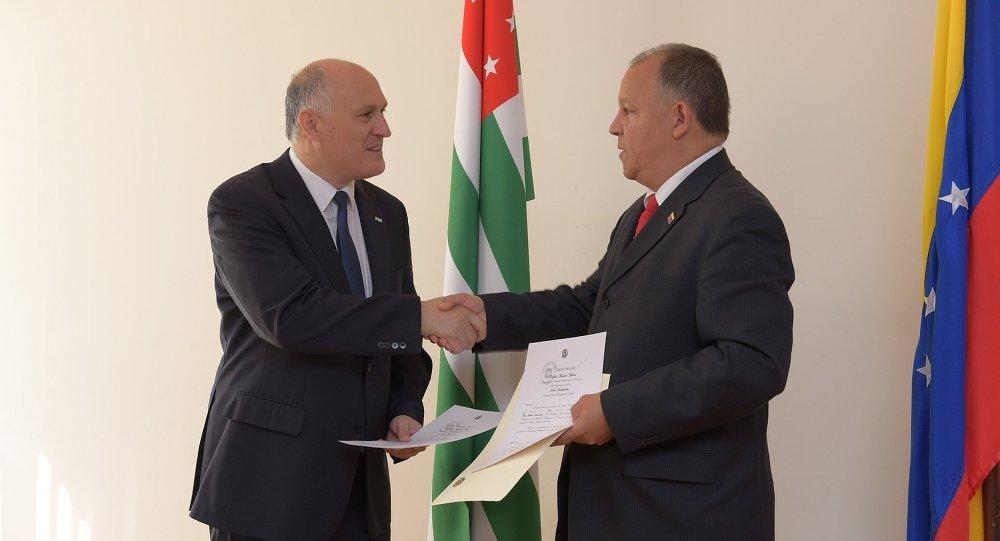 Хуан Висенте Паредес Торреальба назначен послом Венесуэлы в Абхазии