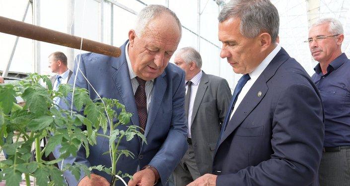 Миниханов и с.Кындыг.