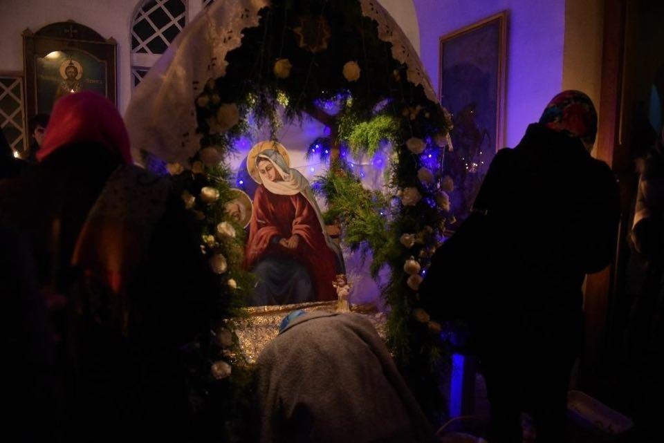 Рождественское богослужение в Сухумском кафедральном соборе.