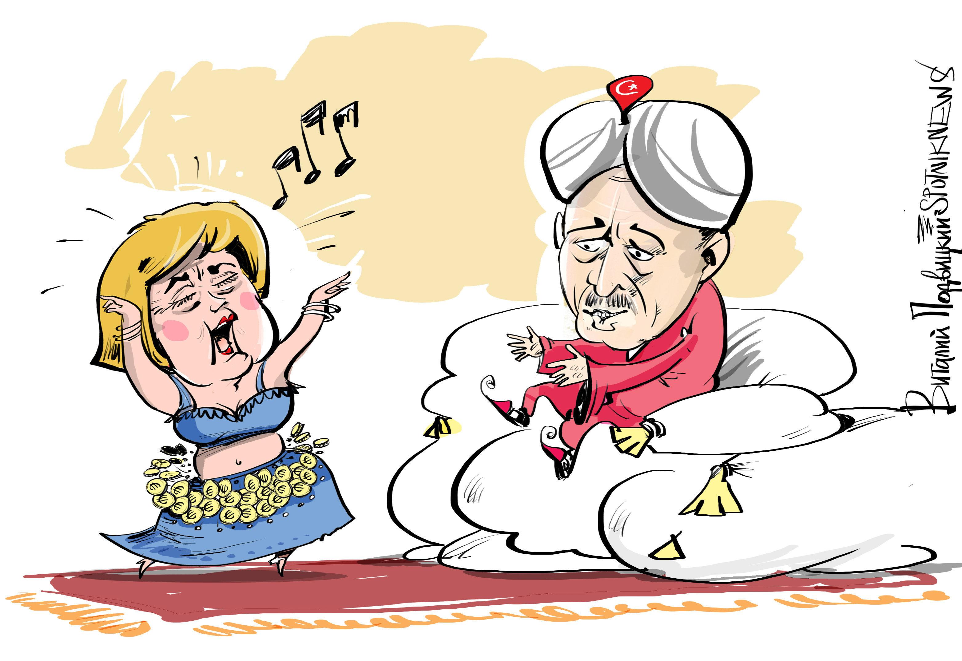 В поисках спасения от миграционного кризиса Европа бросилась за помощью к Турции, не понимая, что ее изворотливое правительство абсолютно бесполезно. Единственно верным решением было бы сотрудничество с Россией, пишет немецкая Tagesspiegel.