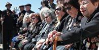 Ветераны на праздновании Дня Победы ВОВ в Сухуме. Архивное фото.