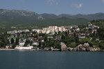 Гурзуф на южном берегу Крыма. Архивное фото