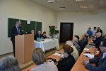 Вечер памяти историка Георгия Амичба состоялся в АГУ