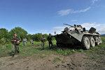 Разминирование горных территорий в Чеченской республике