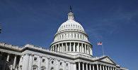 Капитолий (United States Capitol) на Капитолийском холме в Вашингтоне. Архивное фото.