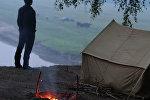 Палаточный лагерь. Архивное фото.