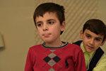 Восьмилетний Руслан Хиба страдает задержкой психоречевого развития
