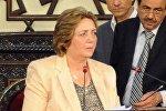 Архивное фото председателя парламента Сирии Хадии Аббас
