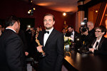 Актер Леонардо Ди Каприо на 88-й церемонии Оскар в Голливуде.