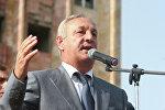 Сергей Багапш выступил на митинге в Сухуме по поводу признания независимости Абхазии Россией. Архивное фото.