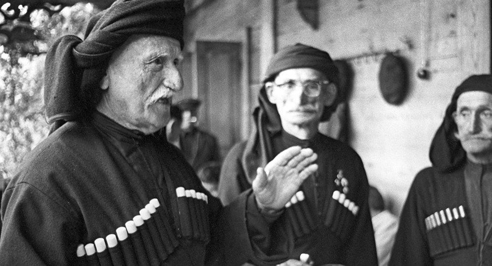 Долгожители из абхазского села Джерда