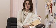 Начальник международных связей администрации города Сухум Ирина Шония.
