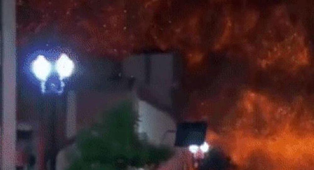 В центре Сан-Паулу обрушилась горящая многоэтажка