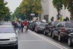 Около пяти тысяч человек митингуют в центре Киева
