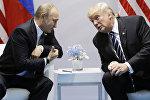 Владимир Путин и Дональд Трамп, архивное фото