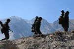 Бригадные тактические учения в Республике Северная Осетия-Алания. Архивное фото.