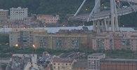 СПУТНИК_Мужчина рассказал, как чудом выжил во время обрушения моста в Италии