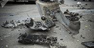 Архивное фото аварии