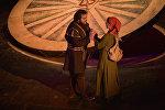 Спектакль по пьесе немецкого поэта и драматурга Бертольта Брехта Кавказский меловой круг
