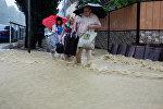 Сочи затопило из-за проливных дождей
