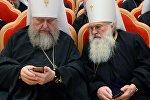 Православные архиереи с мобильными телефонами