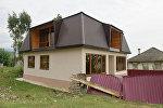 Восстановление пострадавших во время взрыва домов в селе Приморское