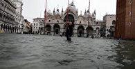 Венеция на 75% затоплена водой