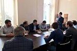 Заседание временной комиссии депутатов Сухумского городского Собрания по реформированию