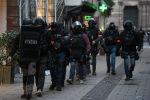 Сотрудники полиции в Страсбурге.12 декабря 2018