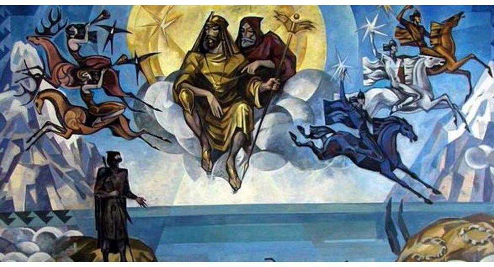 Асахьаҭыхҩы Леиуарса Быҭәба иусумҭа Мифы и Легенды Абхазии