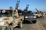 Вооруженные силы, подданные Правительству Нацсогласия, прибывают в пригород Триполи. 6 апреля 2018 год