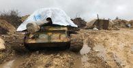 На позиции армии САР на границе провинции Идлиб. Архивное фото