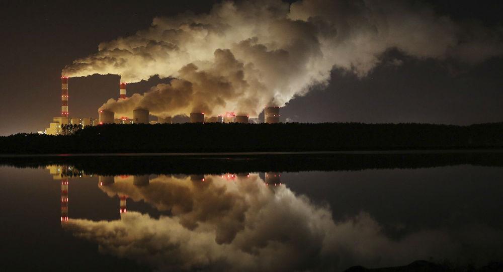 Самая большая в Европе электростанция на буром угле в Белхатуве