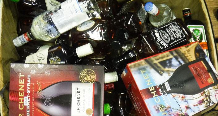 Контрабанда алкогольной продукции