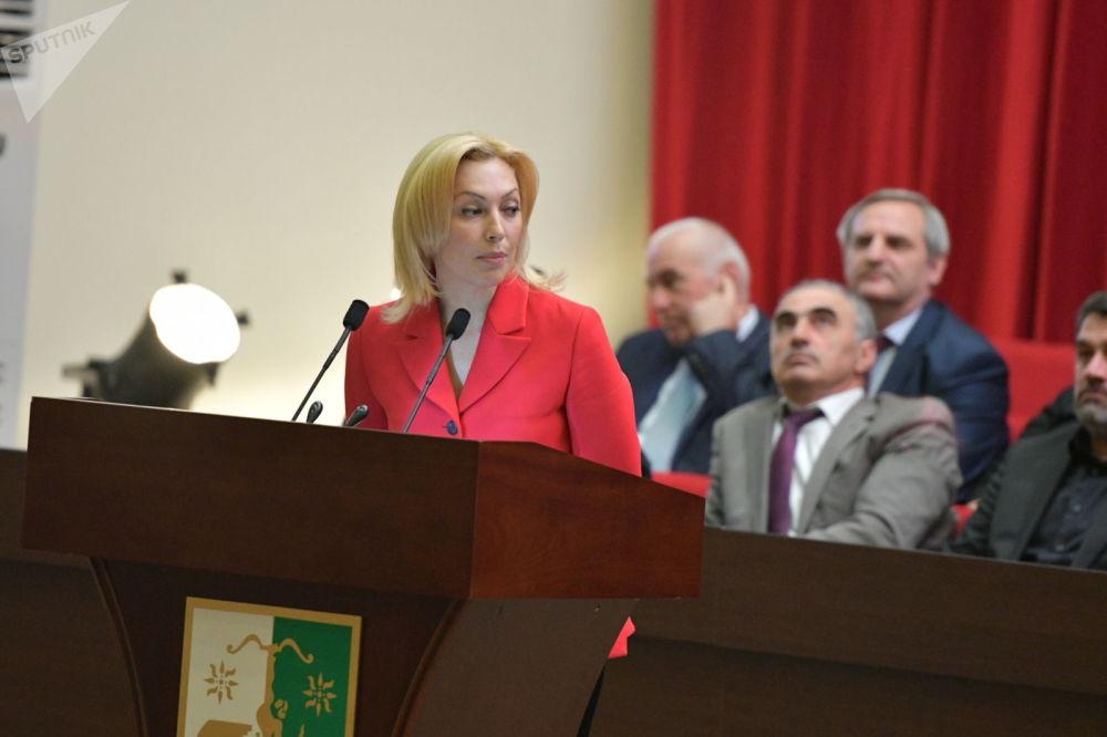 Зампредседателя Госдумы Ольга Тимофеева