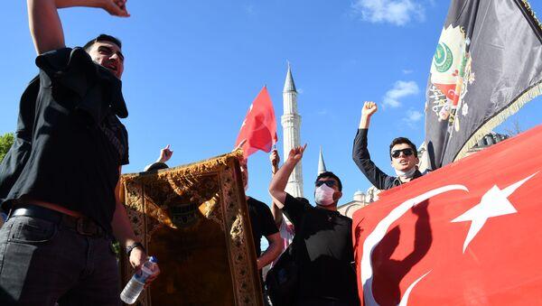 Собор Святой Софии в Стамбуле снова стал мечетью - Sputnik Абхазия