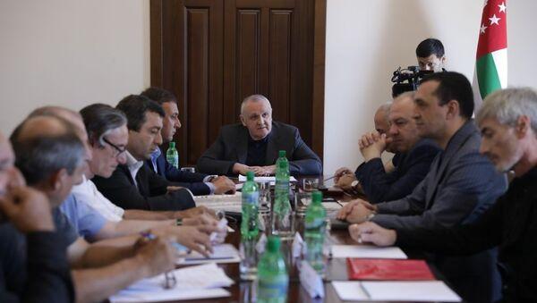 Анкваб и Фонд инвалидов - Sputnik Абхазия