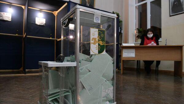 Повторные выборы президента Абхазии - Sputnik Абхазия