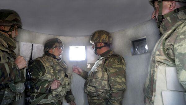 Военнослужащие вооруженных сил Азербайджана - Sputnik Аҧсны