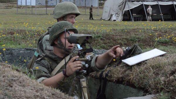 Огневая тактика: военные учения Абхазии и России - Sputnik Аҧсны