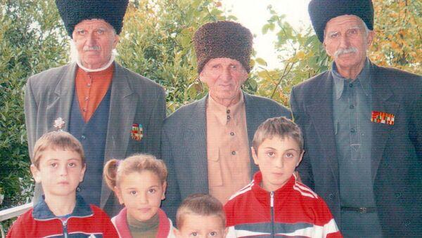 Қьаамыни Акакии Барганџьиаа, урҭ рҩыза, гәыԥҩык ахәыҷқәа - Sputnik Аҧсны