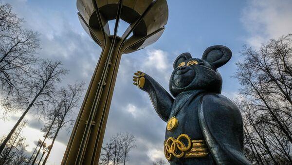 Мишка - талисман Олимпийских игр 1980 года - Sputnik Абхазия