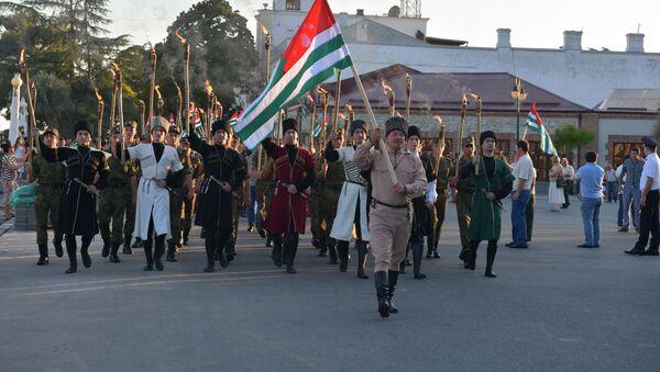 День флага Абхазии - Sputnik Абхазия